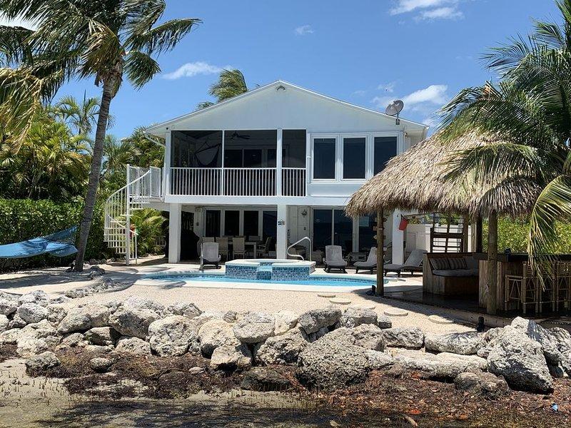 Neptune's End Waterfront Retreat, holiday rental in Cudjoe Key