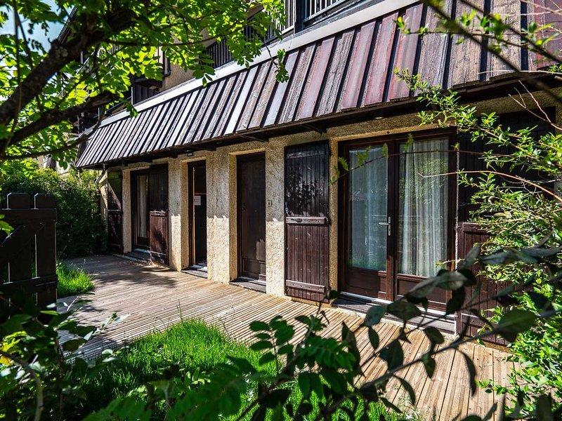 Serre Chevalier Monêtier T3 jardin 6/8 couchages, location de vacances à Le Monetier-les-Bains