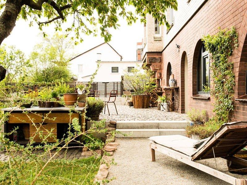 Villa B-neuer Geist in alten Mauern:luxuriös wohnen in der Residenzstadt Gotha, vacation rental in Thuringia
