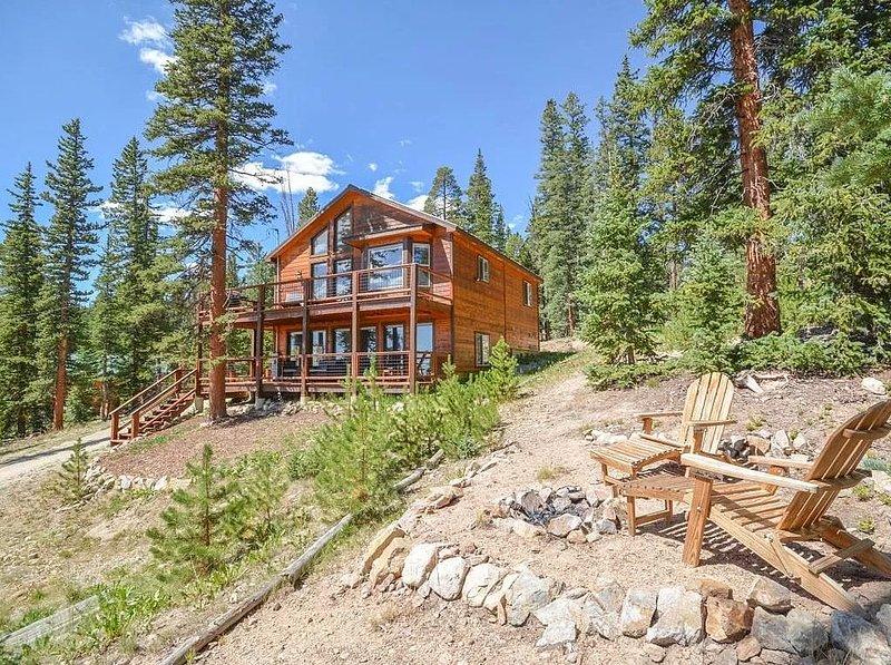 Base Camp Mtn. Chalet - Hot Tub♨Adventure�Views, casa vacanza a Fairplay