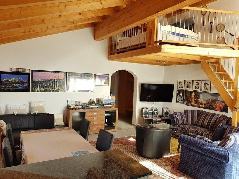 Ferienwohnung Zillis für 4 - 6 Personen mit 2 Schlafzimmern - Ferienhaus, vacation rental in Cresta