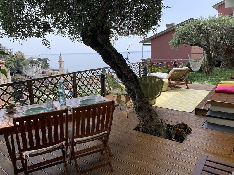 When is Sori... home with garden and sea views CITRA 010060-LT-0064, vacation rental in Avegno