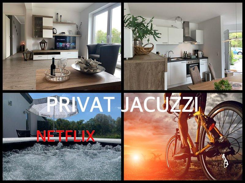 Luxe appartement Winterberg met Jacuzzi, casa vacanza a Kustelberg