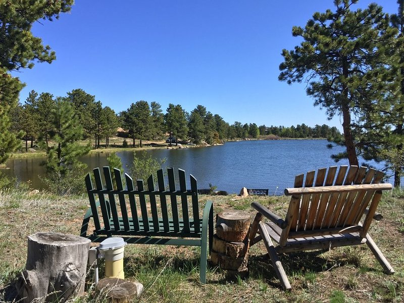 A Lakeside Delight to share, vacation rental in Red Feather Lakes