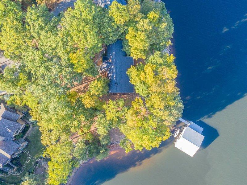 Overhead Lake View