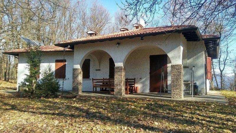 Villa Betulla Incatata Monte Ere Vallio Terme, vacation rental in Botticino