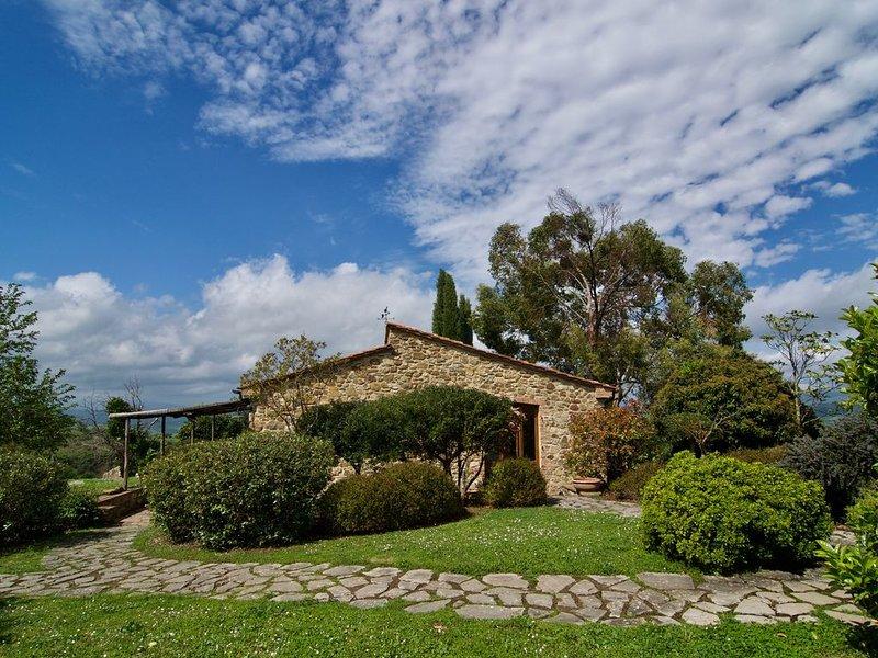 appartamento celeste, alquiler vacacional en Bivio Montorgiali