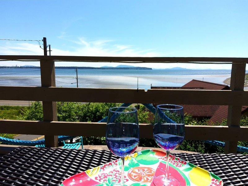 Bay View Cabin with Beach Access, alquiler vacacional en Blaine