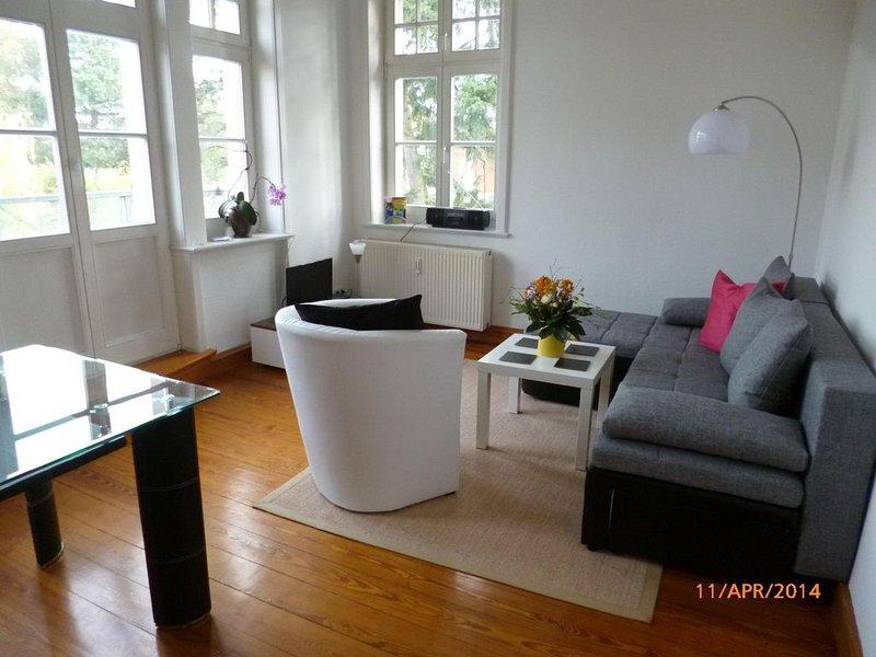Ferienwohnung Stralsund (Stadt) für 2 - 4 Personen mit 1 Schlafzimmer - Ferienwo, holiday rental in Gross Mohrdorf