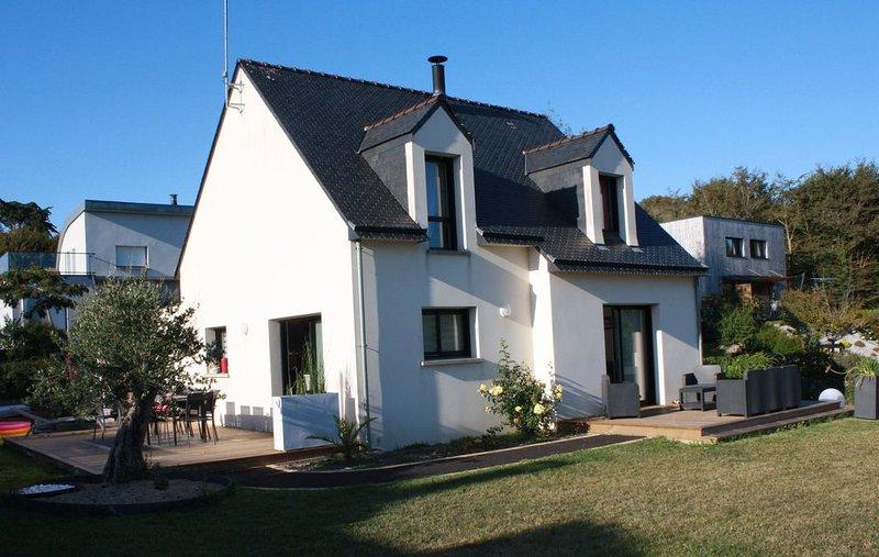 Maison bord de mer(Les Lavandières), location de vacances à Guidel-Plage