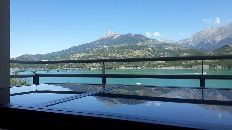 T3 SAVINES LE LAC ... VUE SUR LAC ET MONTAGNES, holiday rental in Puy-Sanieres