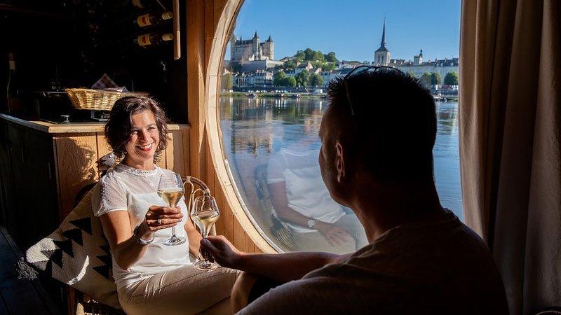 Le Martin Pêcheur: Bateau écolodge luxueux, holiday rental in Allonnes