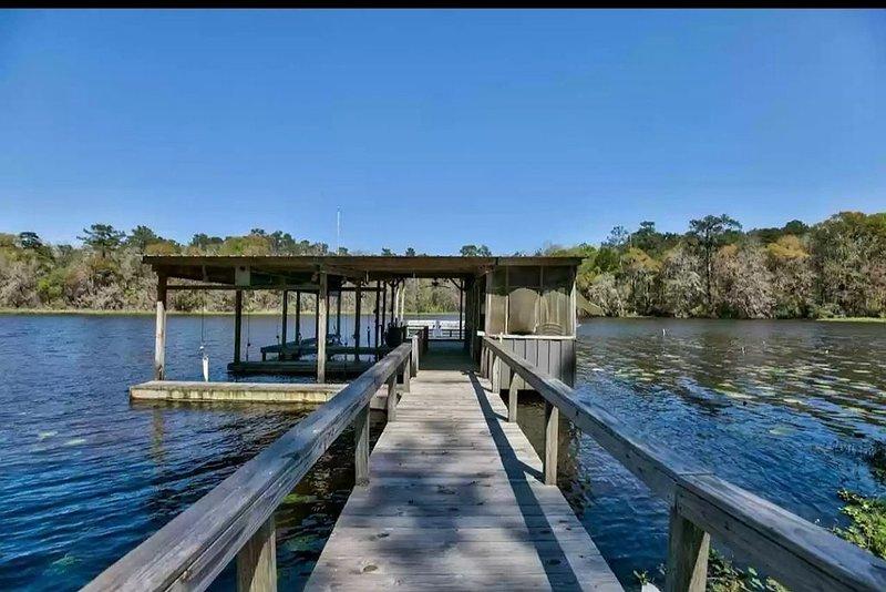 Lake Talquin Fisherman's Paradise, casa vacanza a Quincy