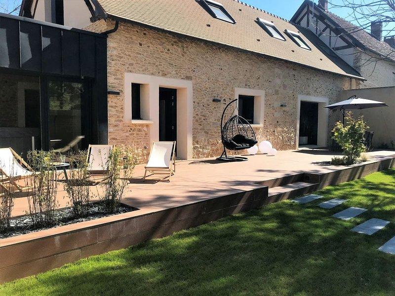 Gîte de la Prée ***** - Spa et Sauna privés - proche Giverny et bords de rivière, holiday rental in Chaufour-les-Bonnieres