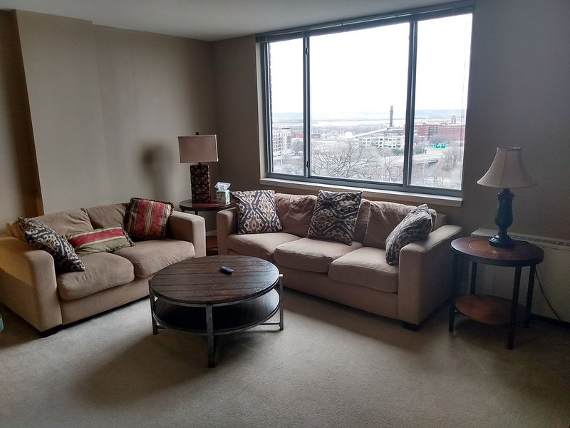 Downtown Kansas City at the metropolitan condominiums, holiday rental in Liberty