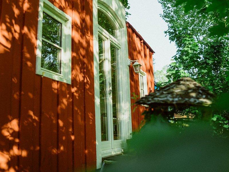 Tiny House am Fluss für Zwei, casa vacanza a Woerth am Rhein