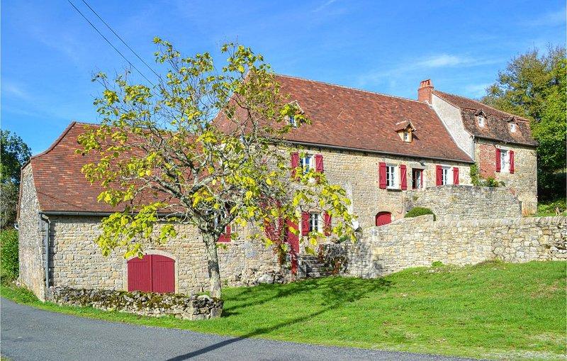 5 Zimmer Unterkunft in Mayrinhac-Lentour, location de vacances à Autoire