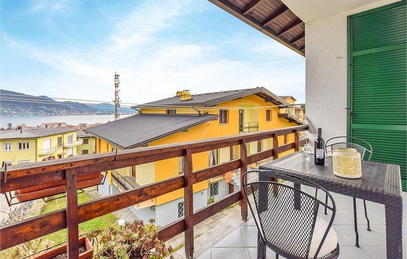 2 Zimmer Unterkunft in Baveno (VB), holiday rental in Baveno