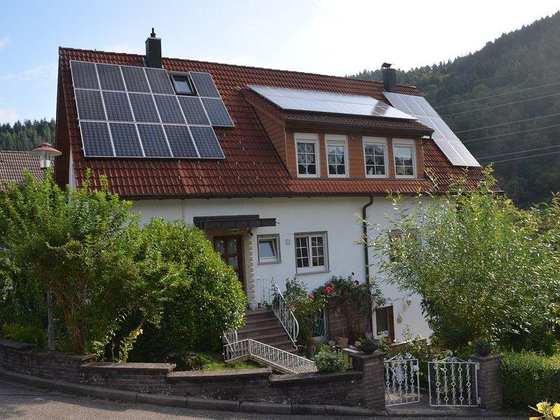 Familienfreundlich, Schwarzwald Naturpark Murgtal  Baden Baden Wanderurlaub, alquiler vacacional en Bad Wildbad