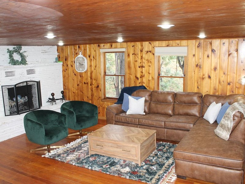 Creeks Paradise. Beautiful views in Strawberry AZ, vacation rental in Pine