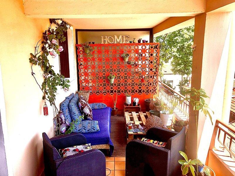 Grand appartement lumineux avec terrasse, holiday rental in Saint-Jean-de-Vedas