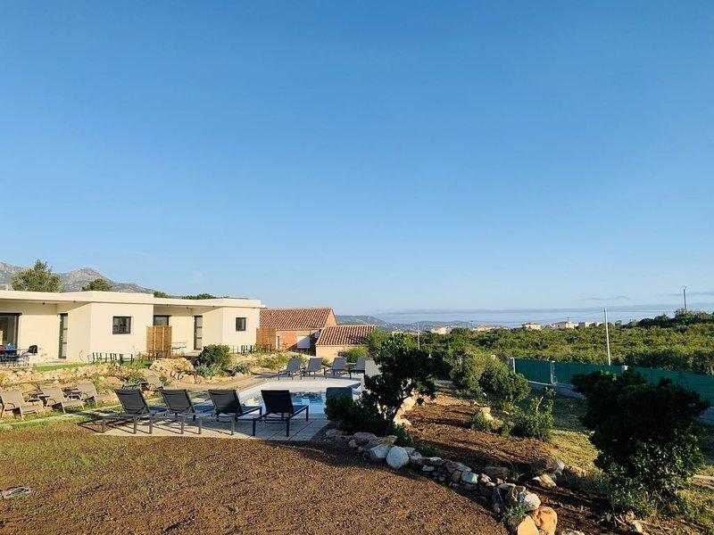 APPART 'LIBECCIO' à Casa Vostra, holiday rental in Calenzana