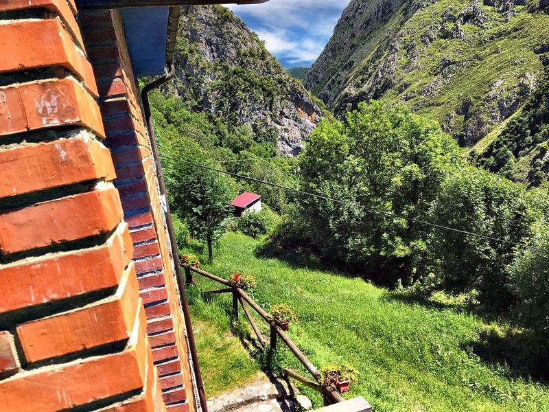 Mágica Panorámica Natural Picos de Europa.ASTURIAS, location de vacances à Sobrefoz