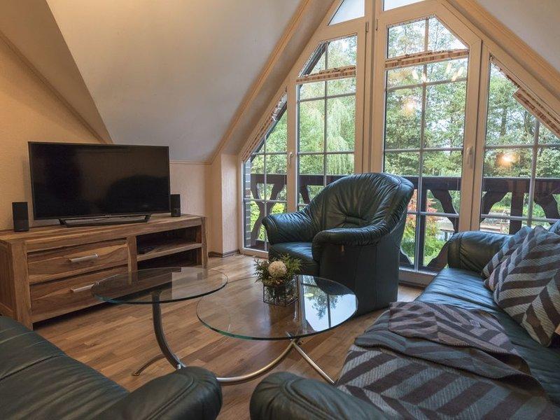 Wohnung Nr. 4  Ferienidyll 'An der Großen Wildbahn', holiday rental in Schmogrow Fehrow