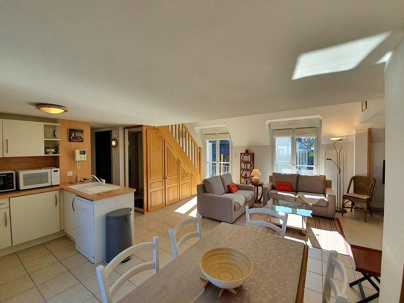 Duplex Villa Pors Pol, Carantec, location de vacances à Henvic