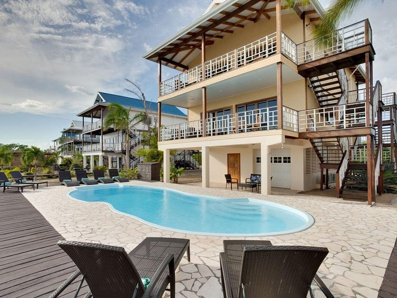 Belize Villa #4- Caribbean Canal, vacation rental in Seine Bight Village
