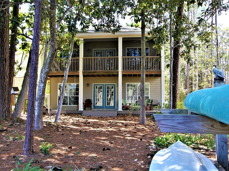 On the Canal, Kayak in Nature Preserve, Near Beach, Canal Front, Available March, holiday rental in Seagrove Beach