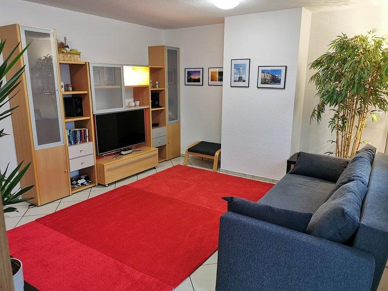 Ruhige City-Wohnung im angesagten Textilviertel Augsburgs, vacation rental in Augsburg