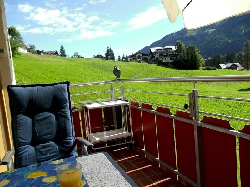 Moderne Ferienwohnung mit 500qm Wellness, Tiefgarage, Bergbahn inklusive, aluguéis de temporada em Riezlern