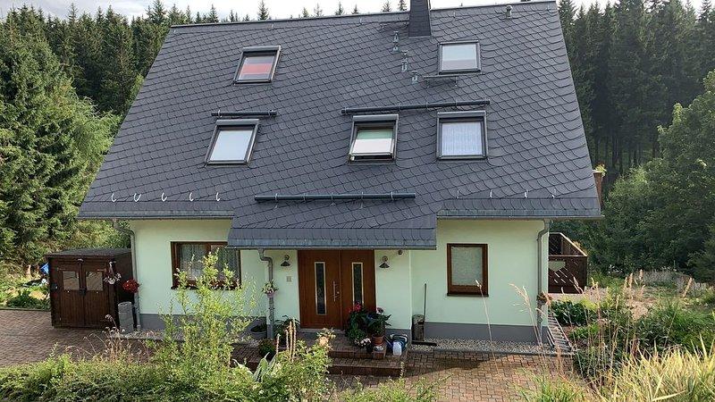 Ferienwohnung Breitenbrunn für 3 Personen - Ferienwohnung, casa vacanza a Crottendorf