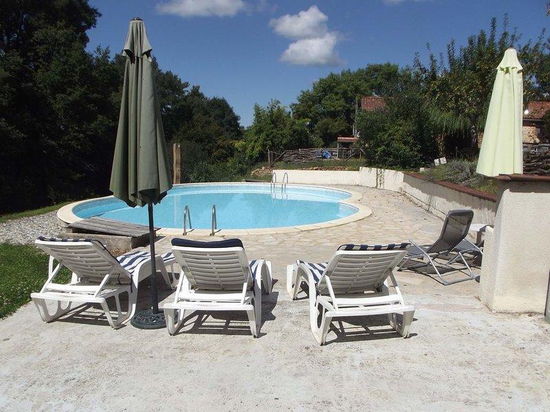 Arc-en-Ciel Rustig gelegen op de grens van de Dordogne en de Lot-et-Garonne, holiday rental in Montcabrier