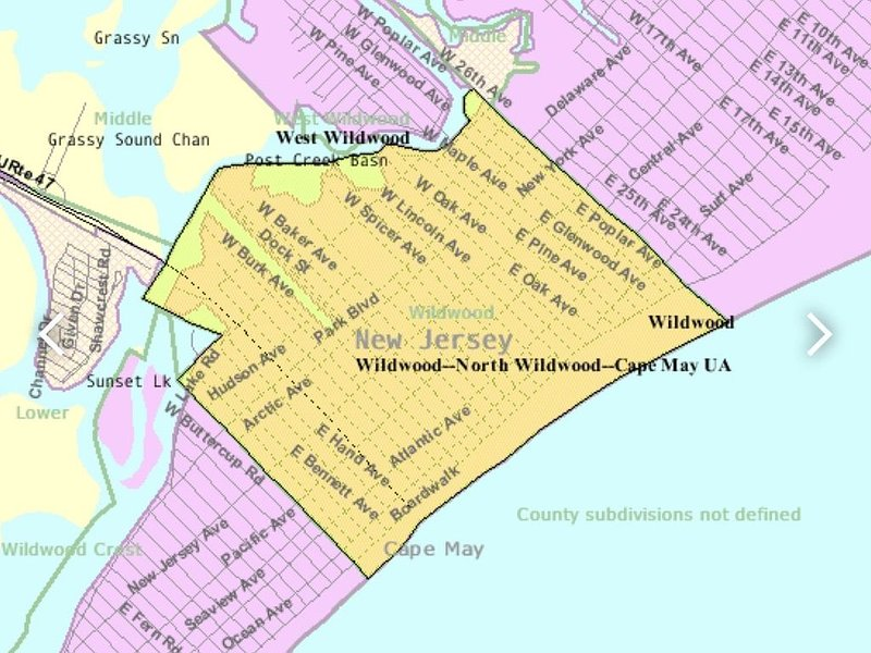 Townhome near boardwalk and attractions!!! Parking permit included!!!, alquiler vacacional en Wildwood