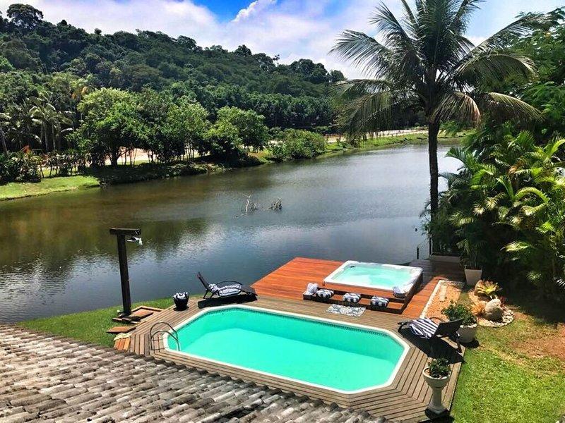 Em Angra um paraíso com Vista para a Lago - Frade, location de vacances à Mambucaba