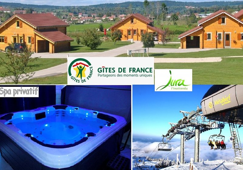 Gîtes chalets traditionnels 4/8 jusqu'à 16 pers, holiday rental in Chaux-Neuve
