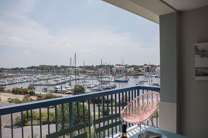 Appartement vue mer et port, holiday rental in Soorts-Hossegor