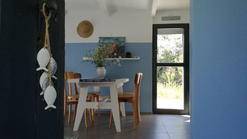 Maisonnette groisillonne à l'orée de la lande, location de vacances à Groix