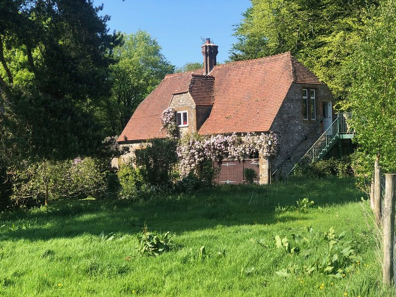 Beautiful Barn in rural Somerset, close to the coast, with stunning views, holiday rental in Dinnington