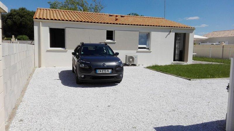 Maison 3 * pour 6 personnes aux portes de l'Ile d'Oléron, vakantiewoning in Marennes