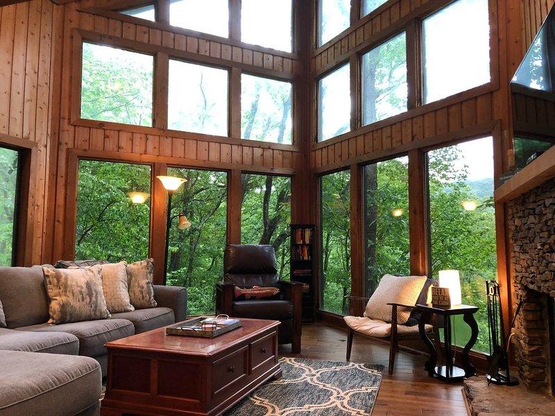 Lake Petit Lodge-Big Canoe LAKEFRONT home--4 bedrooms!, holiday rental in Jasper