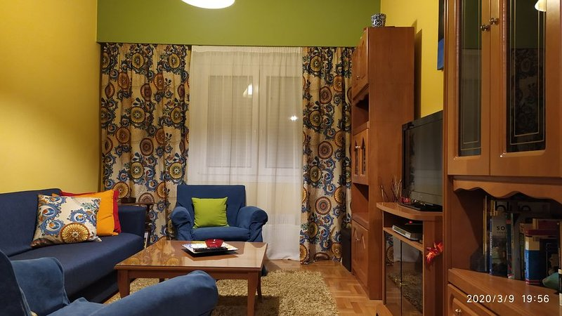 Two room, one bedroom Flat, central Volos, fully equiped, ideal for couples,, holiday rental in Katochori