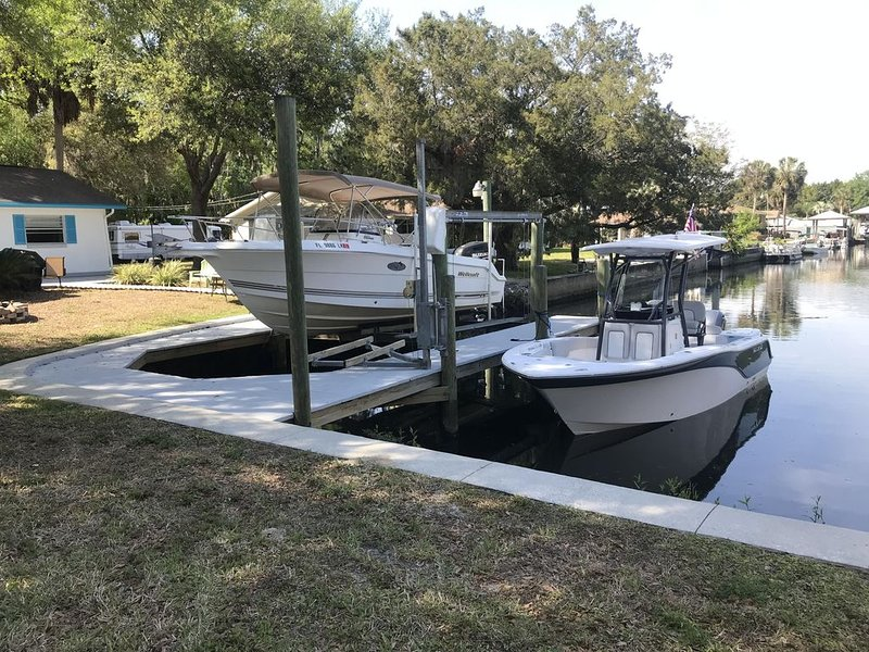 Sonny Springs - Waterfront House on Homosassa with Dock!, holiday rental in Homosassa Springs