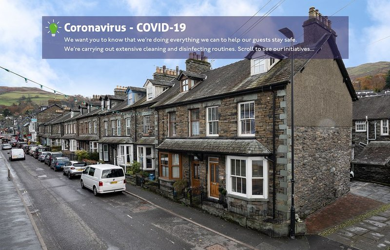 2BR - 1.5BA - Town Centre - Parking - Ambleside, vacation rental in Rydal