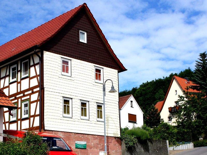 Wanderparadies Rhön Ferienhaus Kiewitt, alquiler de vacaciones en Hofbieber