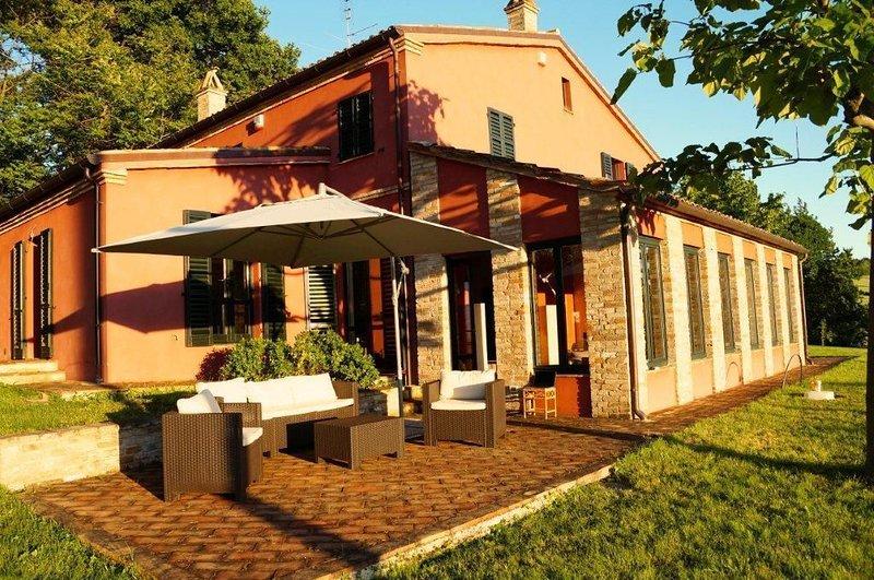 Ferienwohnung Ostra für 1 - 6 Personen mit 2 Schlafzimmern - Ferienwohnung, location de vacances à Morro d'Alba