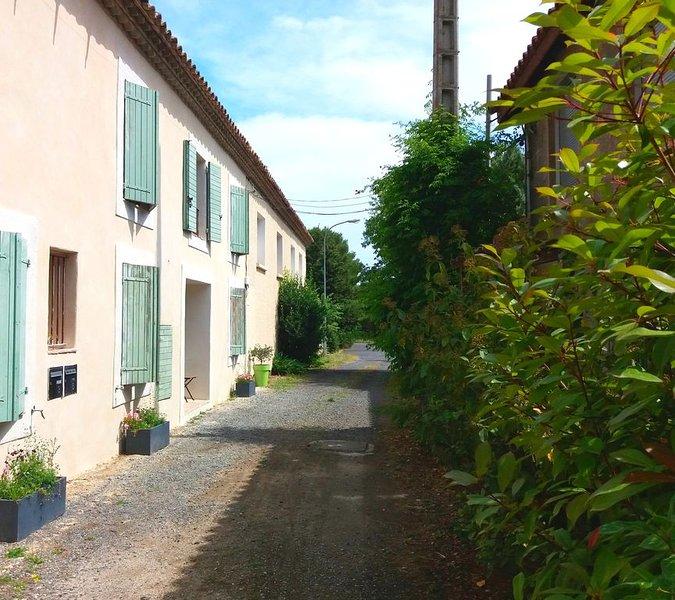 Gîte de charme entre vignobles, rivières, lacs et plages, vacation rental in Lezignan-la-Cebe