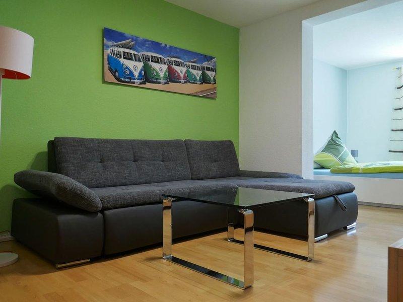 Ferienwohnung Emilia, 36qm, 1 Wohn-/Schlafzimmer, max. 2 Personen, vacation rental in Hayingen
